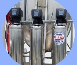 Lọc nước phèn giếng khoan