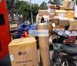 Cot loc nuoc gieng dau nguon di Binh Thuan