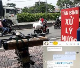 Giao bo loc nhua PVC di Thi Tran Thoi An, Phu Quoc