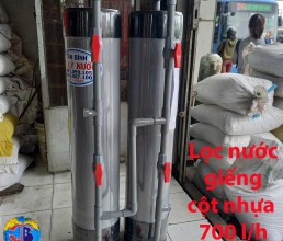 Loc Nuoc Gieng Cot Nhua 700L/h