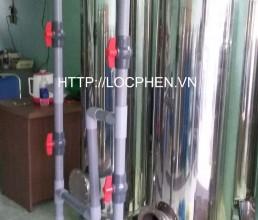 Loc nuoc gieng khoan o Huyen Chau Thanh, Tra Vinh