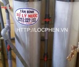 Loc nuoc gieng khoan o KCN Tan Phu Trung, Cu Chi