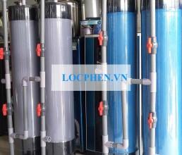 Loc nuoc gieng khoan tru nhua PVC tai Long Khanh, DN