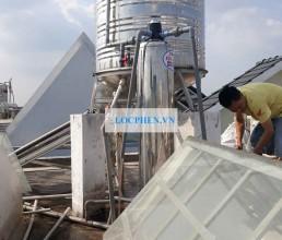 Loc nuoc may duong Nguyen Phuc Chu, Tan Binh