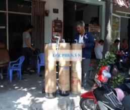 Bo loc nuoc gieng 3 tru nhua Dinh Quan, DN