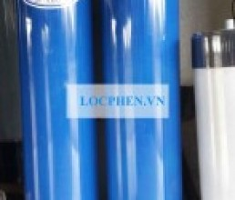 Cot loc nuoc nhua PVC 250 mau xanh