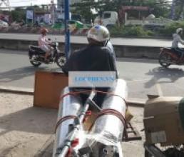 He thong loc nuoc gieng khoan o Tay Ninh