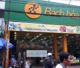Lap bo loc nuoc inox cho cua hang Bach Hoa Xanh Duong Tran Van Quang