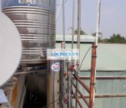 Loc nuoc gieng khoan o ap Tien Lan, Ba Diem