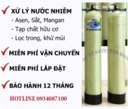 Thiet bi loc nuoc may tong sinh hoat gia dinh