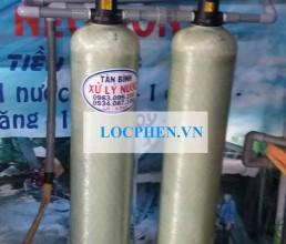 Xu ly nuoc phen gieng khoan o Lac Long Quan, Quan 11