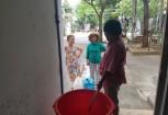 Nguoi dan Da Nang chap nhan dung nuoc hoi mui bun de sinh hoat