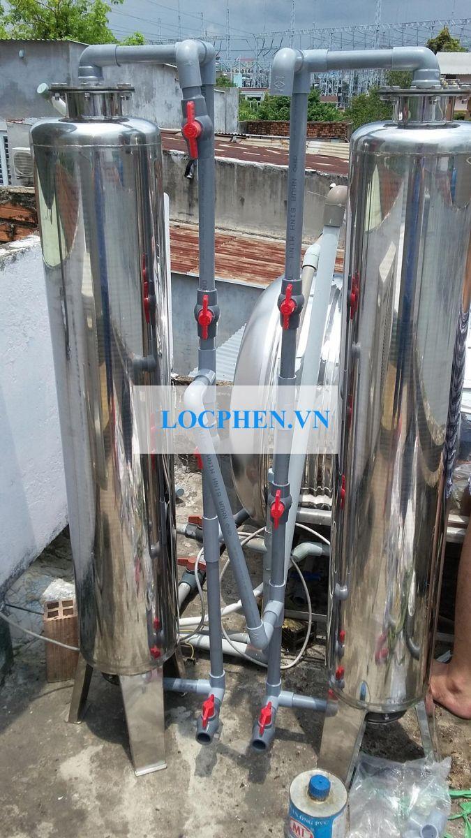 Lọc nước máy đường Nguyễn Thị Đặng, Tổ 5, Khu Phố 3