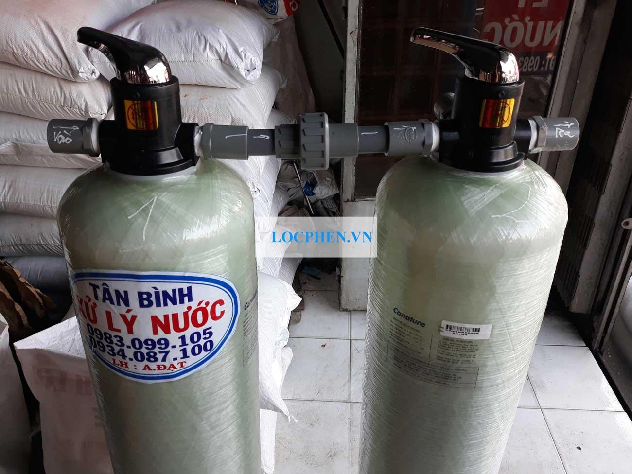 Giao cot loc nuoc may bang composite 844 tai tan phu