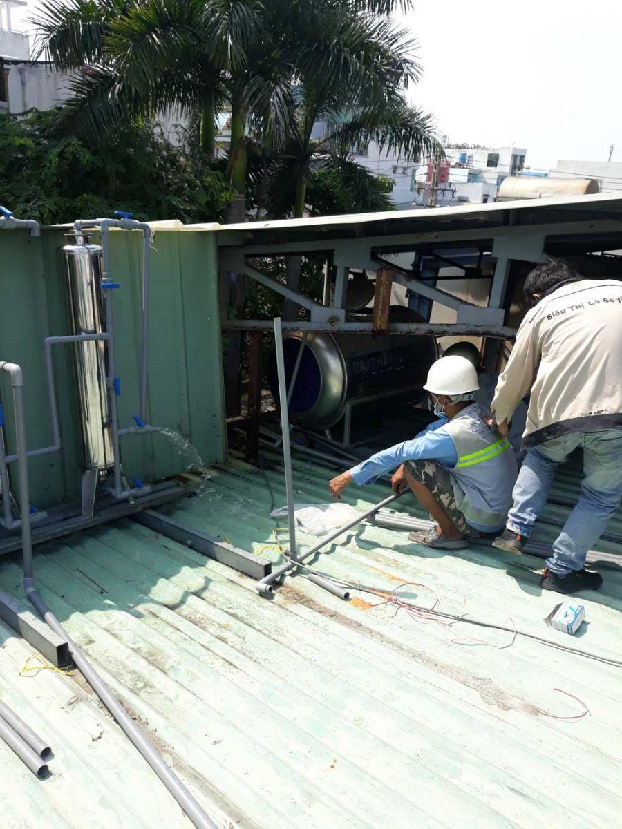 Lọc nước phèn cho Bách Hóa Xanh Tân Hòa Đông