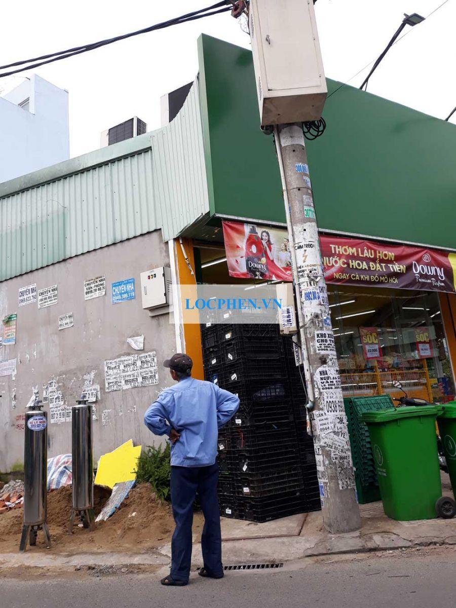 Lọc nước giếng khoan cho cửa hàng Bách Hóa Xanh Đường số 8 Bình Tân