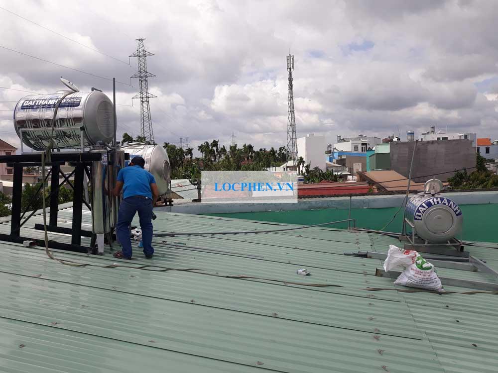 Lọc nước giếng khoan cho cửa hàng Bách Hóa Xanh tại Bà Điểm HM