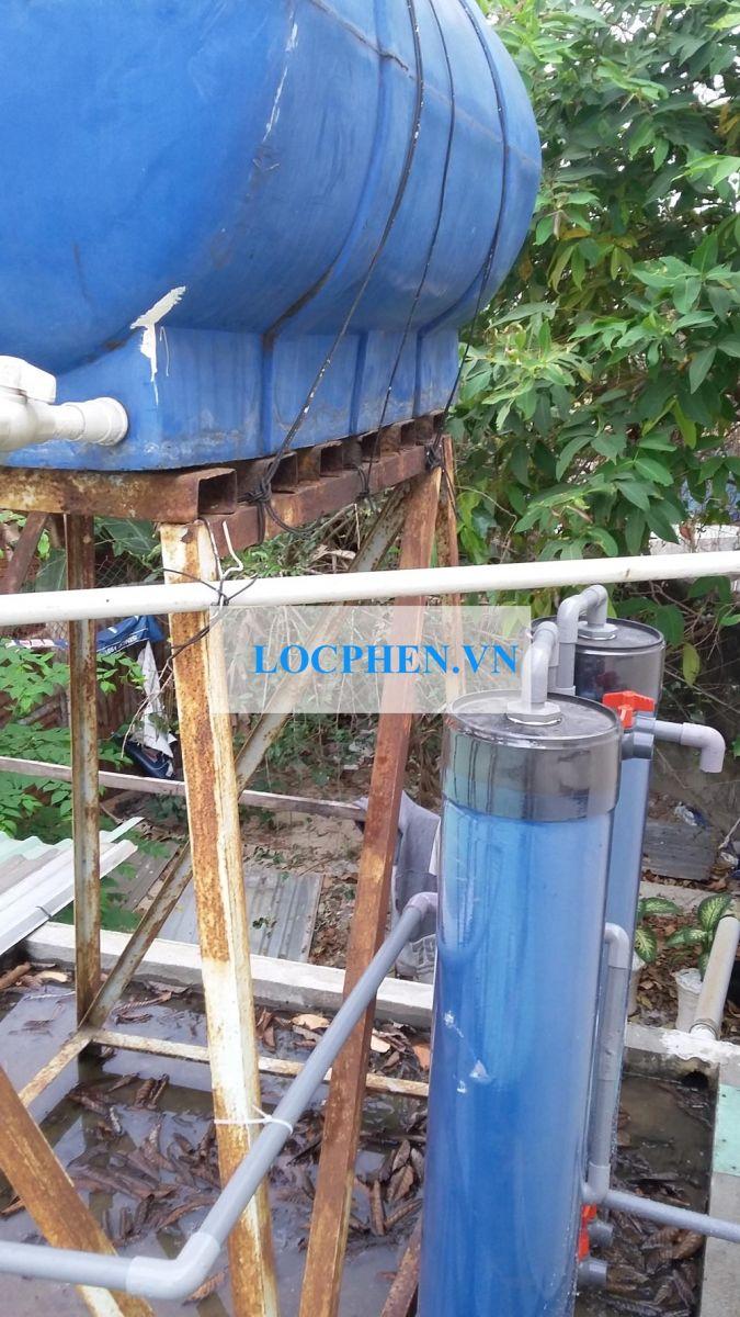 Bộ lọc nước giếng ngã ba chùa