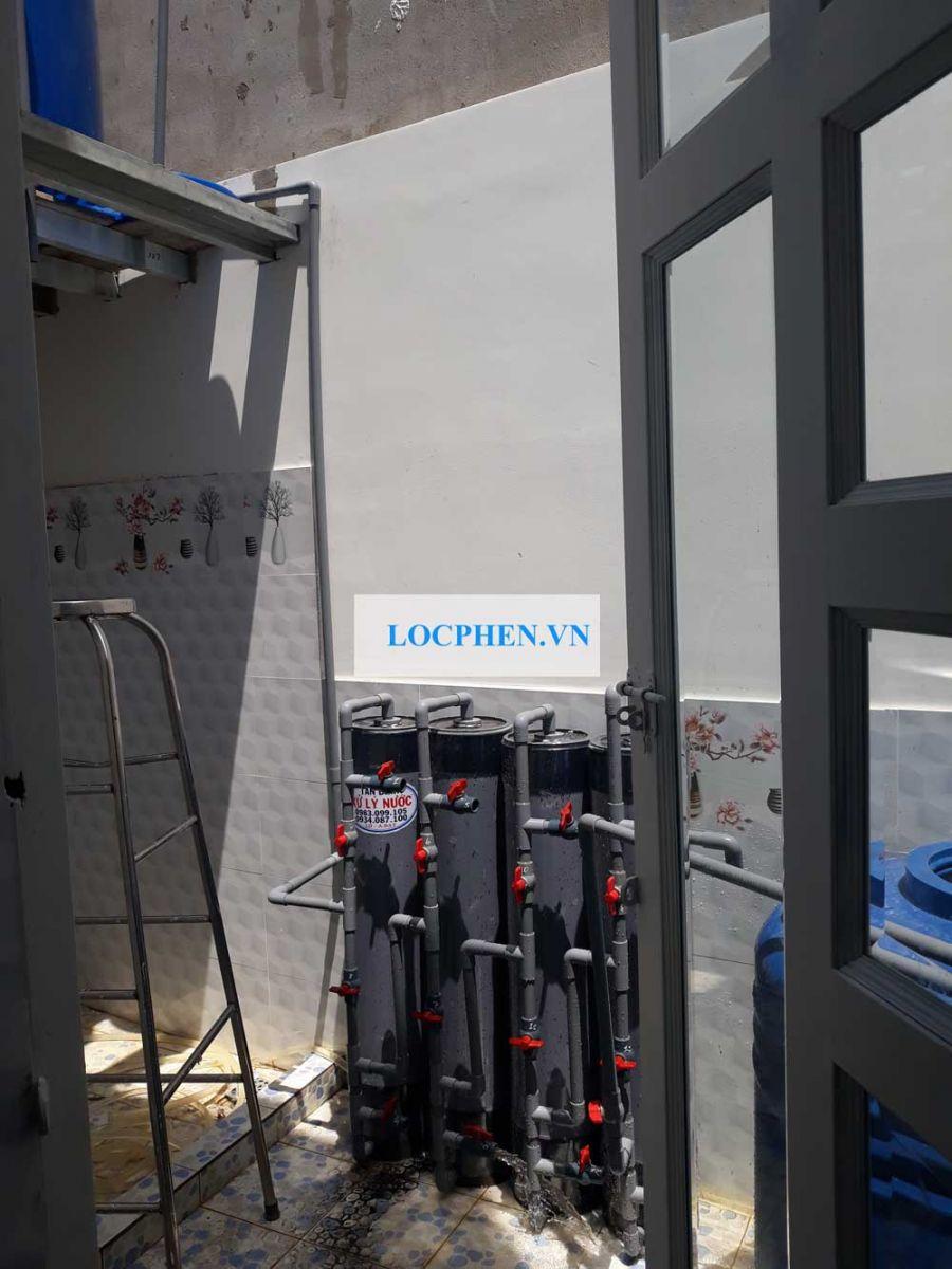 Lọc nước giếng khoan nhiễm sắt tại Bình Mỹ Củ Chi
