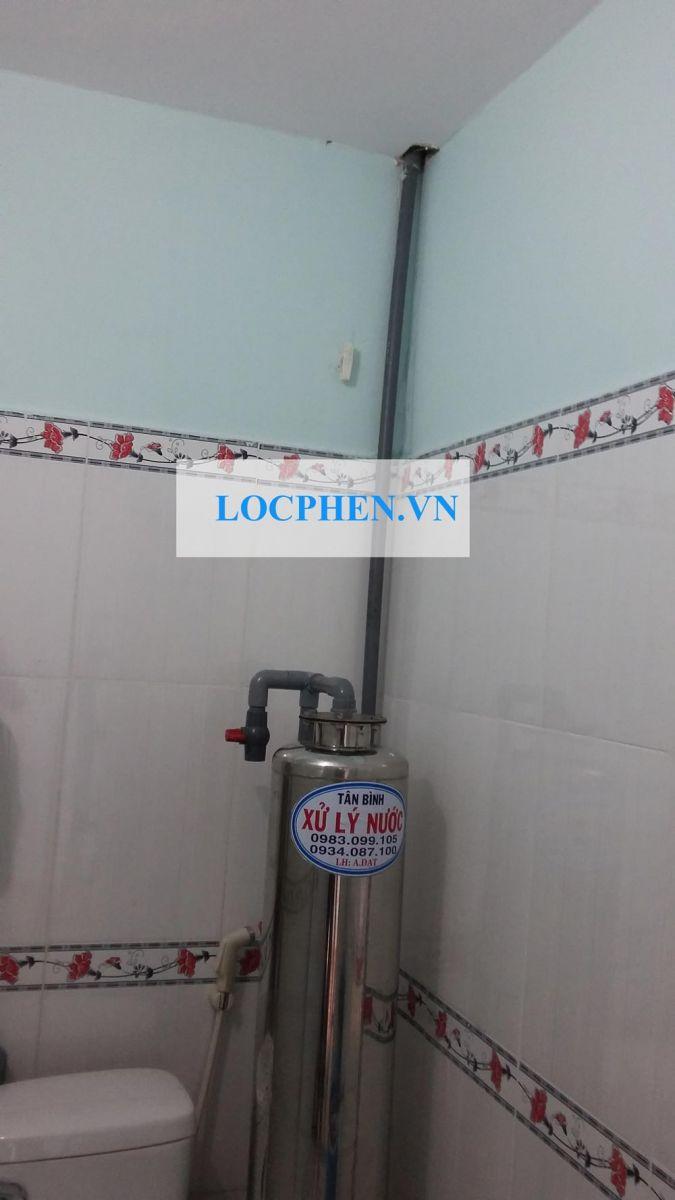 Lắp đặt bộ lọc nước giếng khoan Vĩnh Lộc