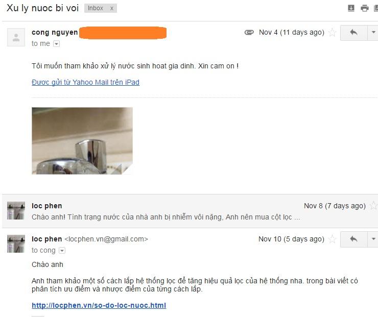 email lien he xu ly nuoc nhiem voi