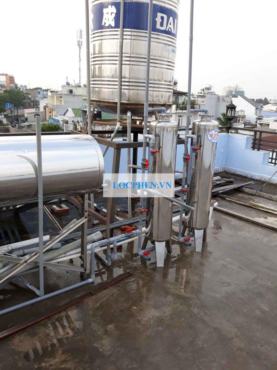 Bồn chứa nước inox có độ bền cao và đảm bảo chất lượng.