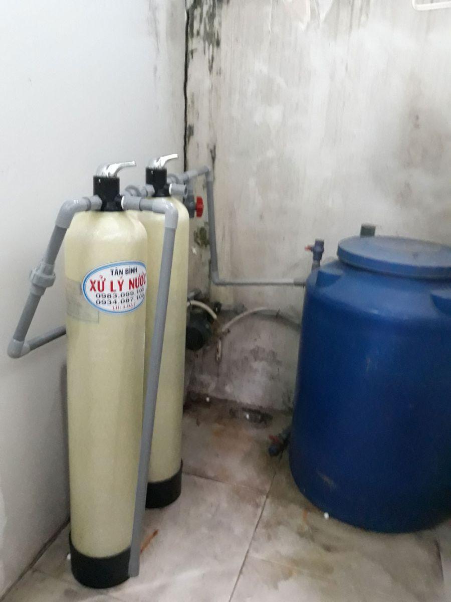 Lắp đặt bộ lọc nước máy đường An Dương Vương Q6