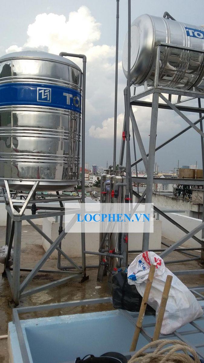 Lắp đặt bộ lọc nước máy Hương Lộ 2