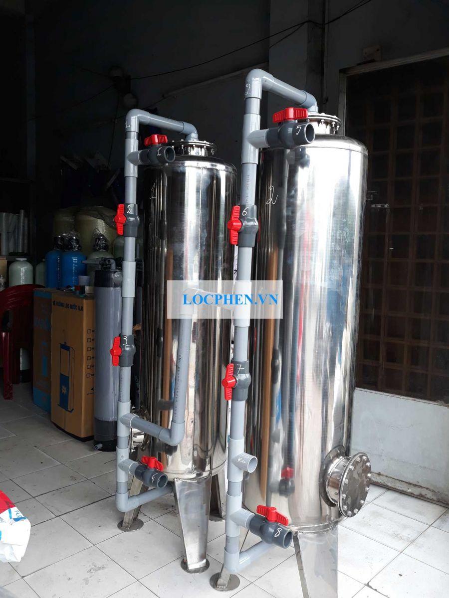 Bộ lọc nước inox D400