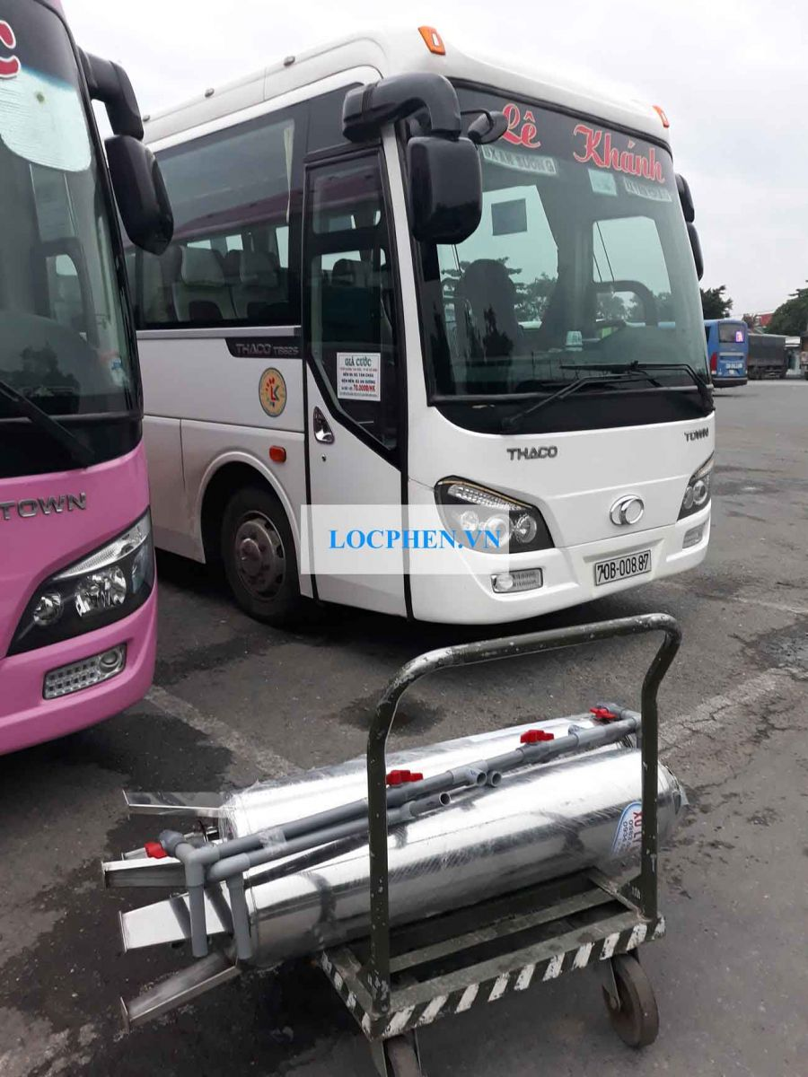 Hình ảnh thiết bị xử lý nước giếng ở Tân Châu, Tây Ninh
