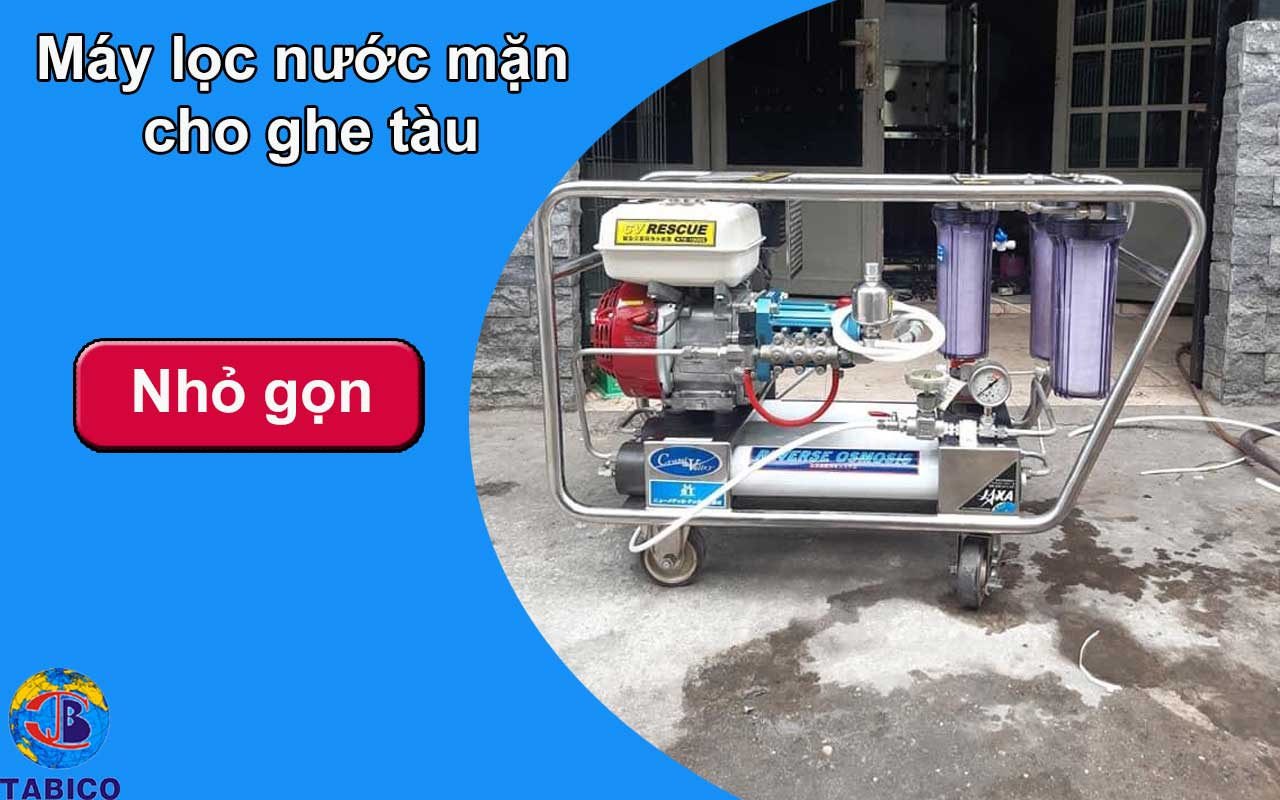 may loc nuoc bien cho ghe