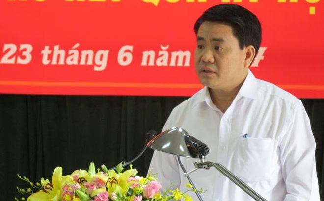 Chủ tịch Hà Nội: Hy vọng đến năm 2019 nước sông Tô Lịch đảm bảo sạch
