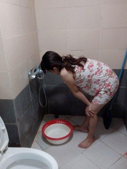 hàng nghin người điêu đứng vì mất nước