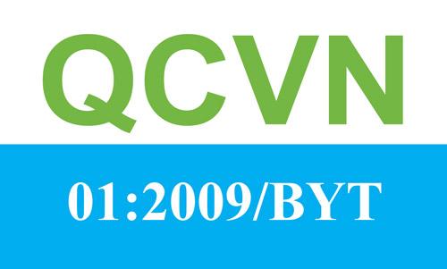 QCVN 01 2009/BYT