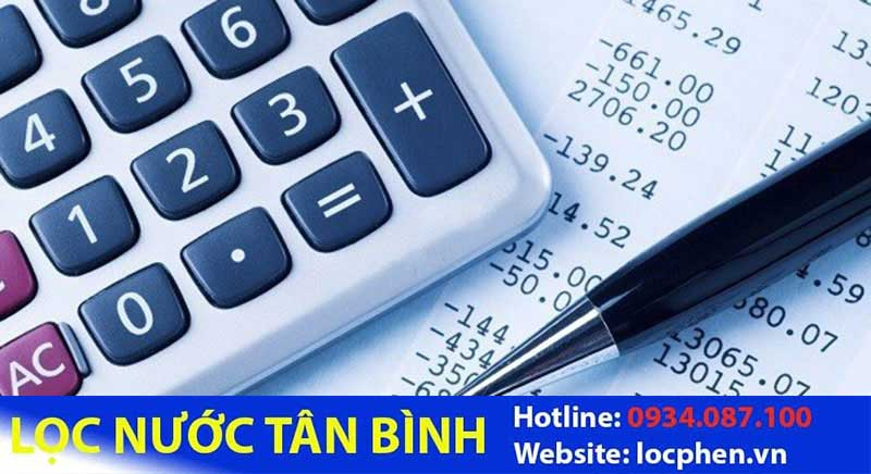 cach tinh tien nuoc sinh hoat