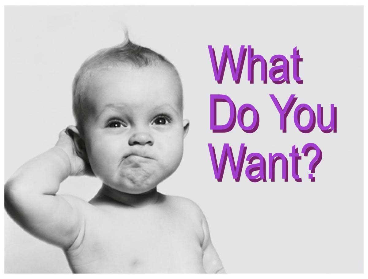 Chúng ta muốn gì