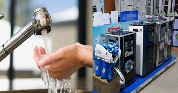 Máy lọc nước có thể chữa bách bệnh?