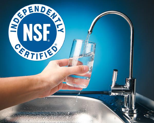 Tiêu chuẩn NSF là gì trong ngành lọc nước?