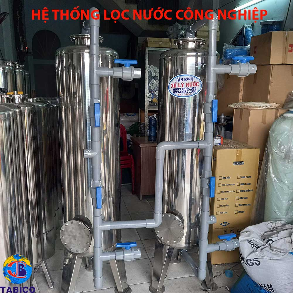 he thong loc nuoc cong nghiep