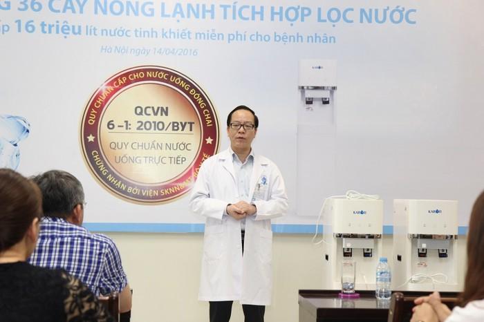 Tiêu chuẩn nước uống trực tiếp của bộ y tế QCVN 6-1:2010/BYT