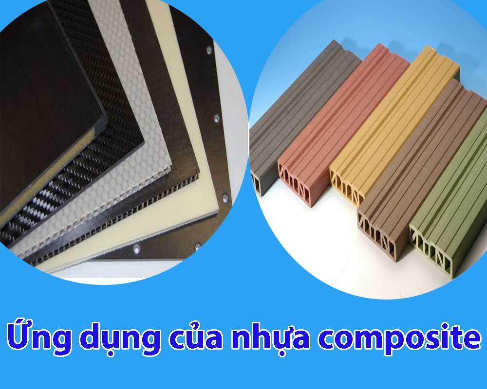 Ứng dụng của nhựa composite
