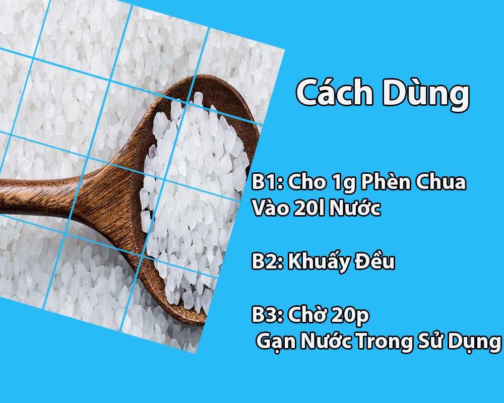 xu ly nuoc bang phen chua