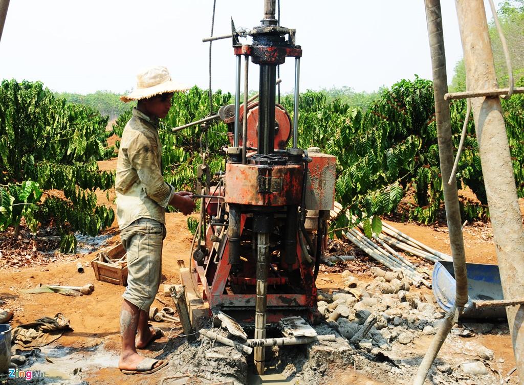 Thực trạng nguồn nước giếng khoan ở Việt Nam hiện nay